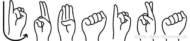 Jubaira in Fingersprache für Gehörlose