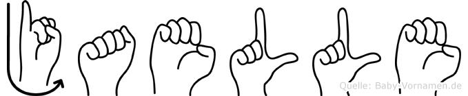 Jaelle in Fingersprache für Gehörlose