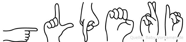 Gülperi in Fingersprache für Gehörlose