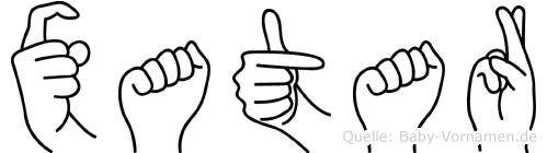 Xatar in Fingersprache für Gehörlose