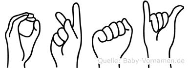Okay im Fingeralphabet der Deutschen Gebärdensprache
