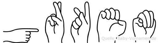 Görkem in Fingersprache für Gehörlose
