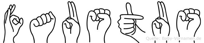 Faustus in Fingersprache für Gehörlose