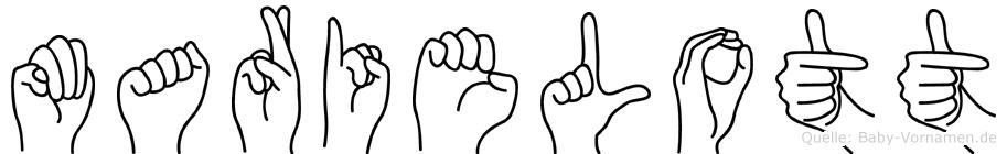 Marielott in Fingersprache für Gehörlose