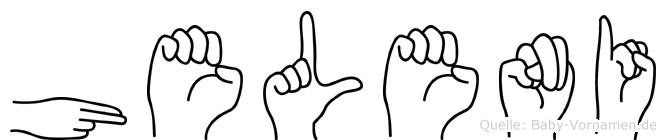 Heleni in Fingersprache für Gehörlose