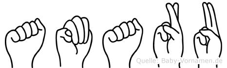 Amaru in Fingersprache für Gehörlose