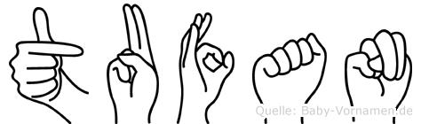 Tufan in Fingersprache für Gehörlose