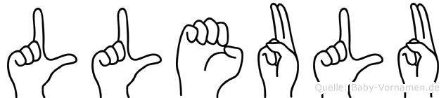 Lleulu in Fingersprache für Gehörlose
