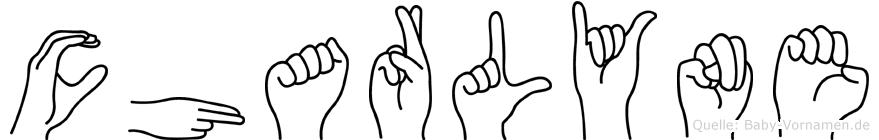 Charlyne in Fingersprache für Gehörlose