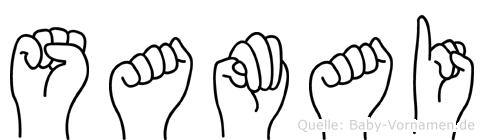 Samai in Fingersprache für Gehörlose