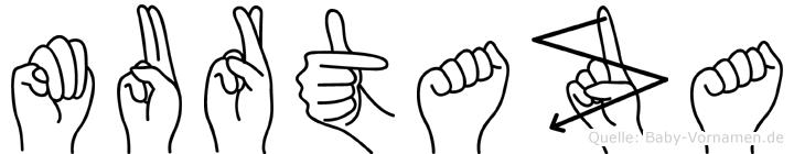 Murtaza in Fingersprache für Gehörlose