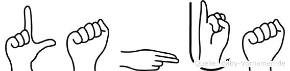 Lahja in Fingersprache für Gehörlose
