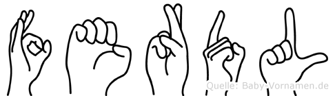 Ferdl in Fingersprache für Gehörlose