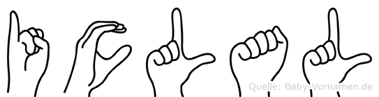 Iclal in Fingersprache für Gehörlose
