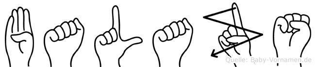 Balazs in Fingersprache für Gehörlose