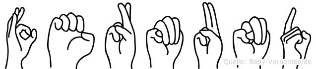 Fermund in Fingersprache für Gehörlose