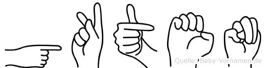 Gökten in Fingersprache für Gehörlose