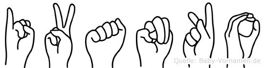 Ivanko in Fingersprache für Gehörlose