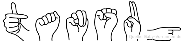Tansug in Fingersprache für Gehörlose