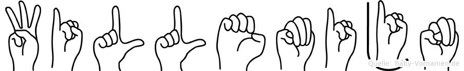 Willemijn in Fingersprache für Gehörlose