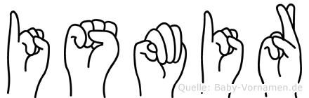 Ismir in Fingersprache für Gehörlose