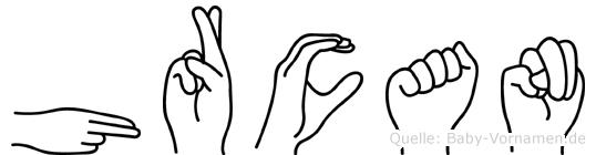 Hürcan in Fingersprache für Gehörlose