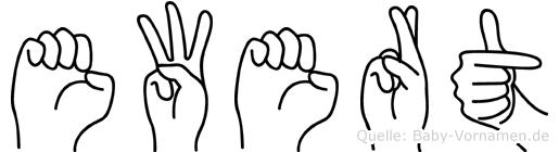 Ewert in Fingersprache für Gehörlose