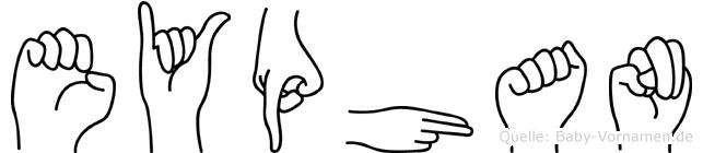 Eyüphan in Fingersprache für Gehörlose