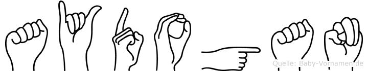 Aydogan in Fingersprache für Gehörlose