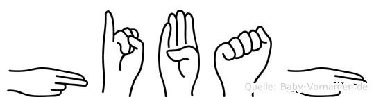 Hibah in Fingersprache für Gehörlose