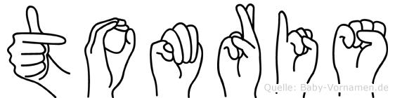 Tomris in Fingersprache für Gehörlose