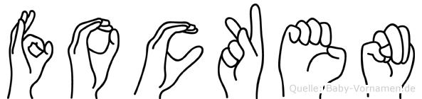 Focken in Fingersprache für Gehörlose