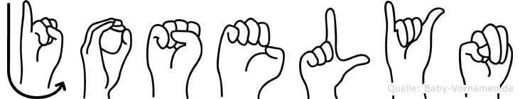 Joselyn in Fingersprache für Gehörlose