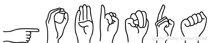 Gobinda in Fingersprache für Gehörlose