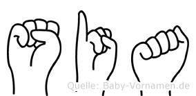 Sia in Fingersprache für Gehörlose