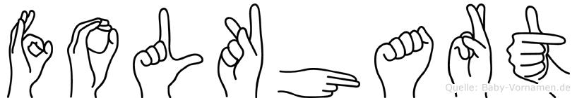 Folkhart in Fingersprache für Gehörlose