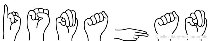 Ismahan in Fingersprache für Gehörlose