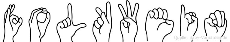 Folkwein in Fingersprache für Gehörlose