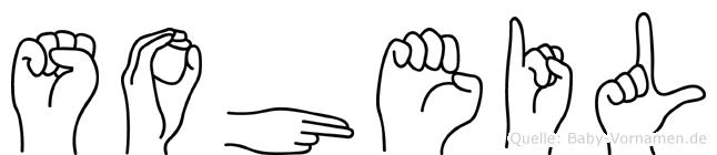Soheil im Fingeralphabet der Deutschen Gebärdensprache