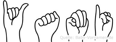 Yami in Fingersprache für Gehörlose