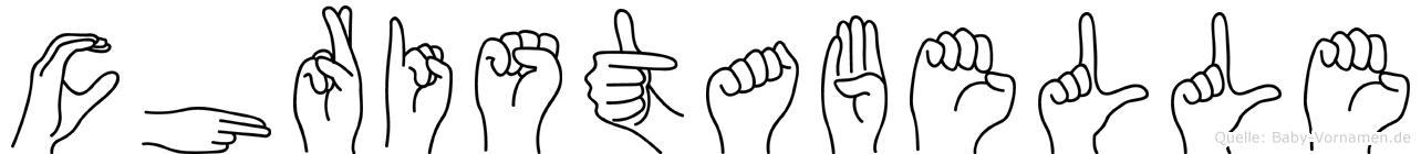 Christabelle in Fingersprache für Gehörlose