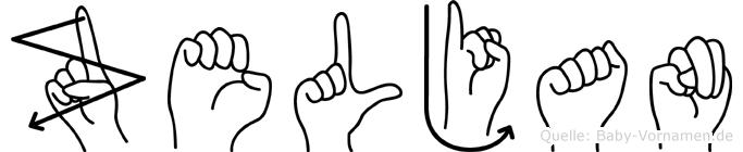 Zeljan in Fingersprache für Gehörlose