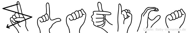 Zlatica in Fingersprache für Gehörlose