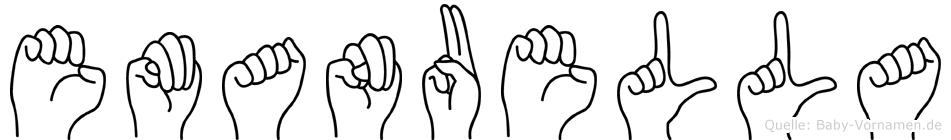 Emanuella in Fingersprache für Gehörlose