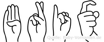 Brix im Fingeralphabet der Deutschen Gebärdensprache