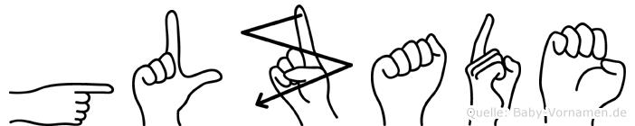 Gülzade in Fingersprache für Gehörlose