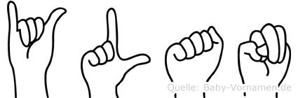 Ylan in Fingersprache für Gehörlose