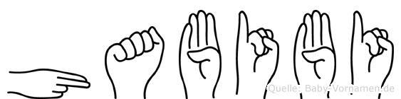 Habibi in Fingersprache für Gehörlose