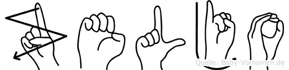 Zeljo in Fingersprache für Gehörlose