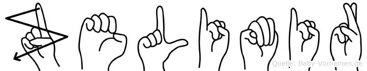Zelimir in Fingersprache für Gehörlose